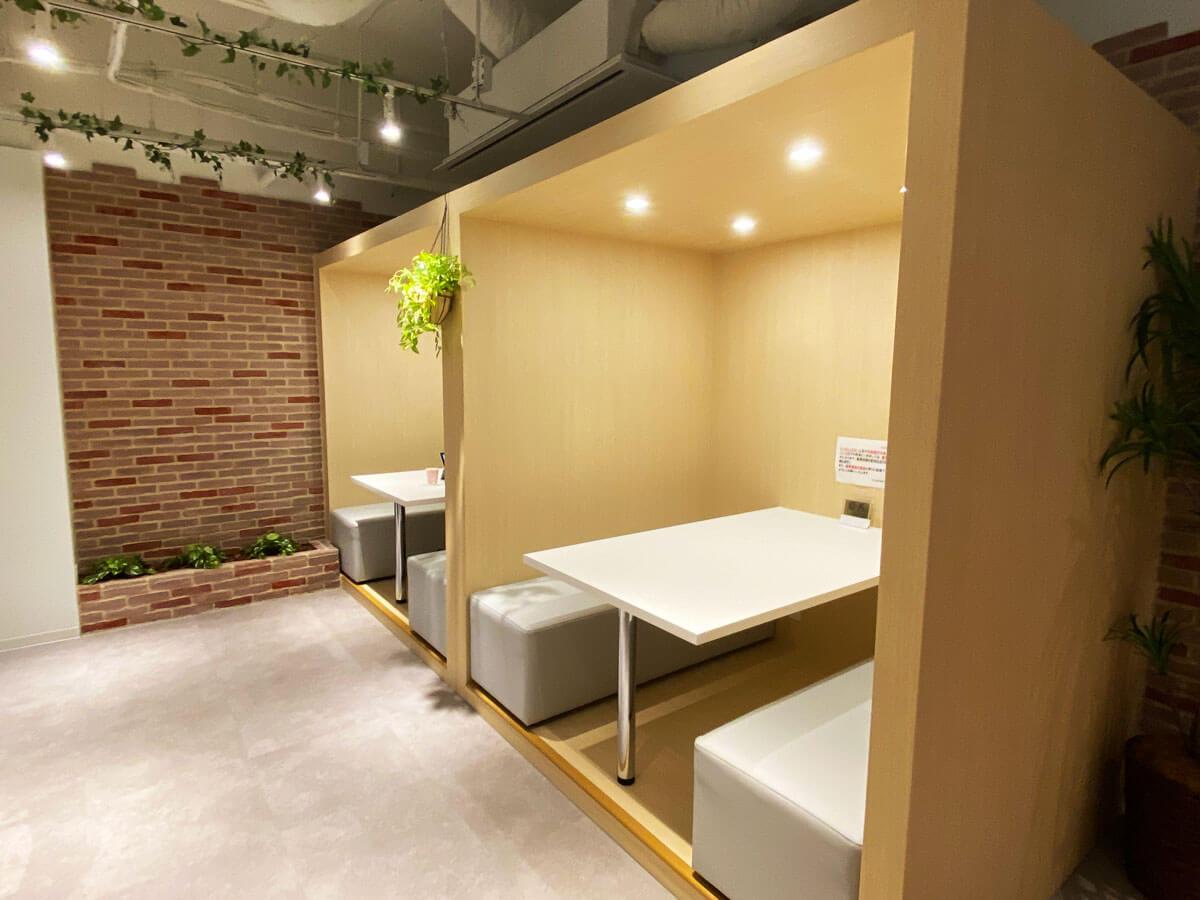 ワイムビジネスプラザ高田馬場5Fのフリースペースの写真